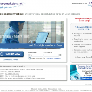 Euromarketers.net, an initiative of the European Marketing Confederation