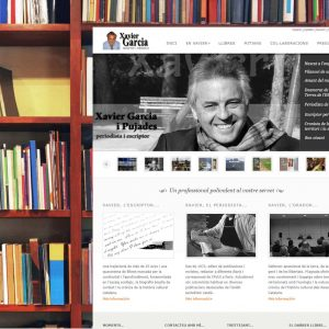 Xavier's multilingual website can be browsed at www.xaviergarciapujades.eu